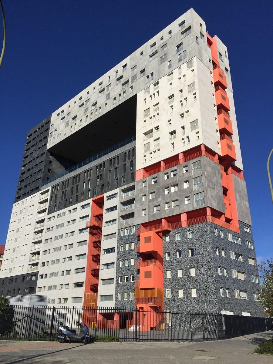 Edificio mirador mvrdv blanca lle casa 33 for Escuela arquitectura donostia